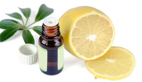 Лимонное масло для ногтей